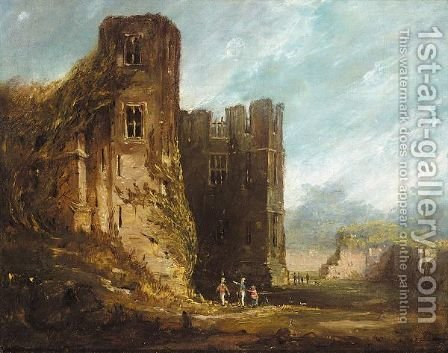 A view of Kenilworth castle by (after) Thomas Allom - Reproduction Oil Painting