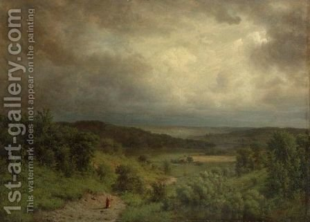 Storm Ahead by Alexander Helwig Wyant - Reproduction Oil Painting