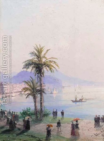 Nice by Ivan Konstantinovich Aivazovsky - Reproduction Oil Painting