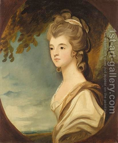 Portrait Of The Duchess Of Sutherland by (after) Sir Joshua Reynolds - Reproduction Oil Painting
