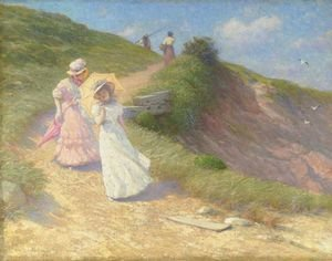 Reproduction oil paintings - William Lippincott - The Marginal Way