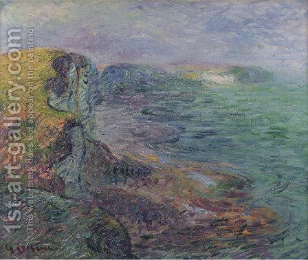 Falaises D'Yport by Gustave Loiseau - Reproduction Oil Painting