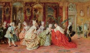 A. Zoffoli reproductions - An Audience With The Cardinal