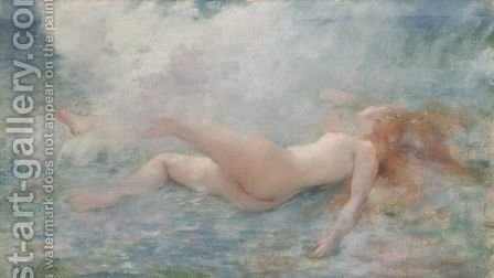 Roulee Par La Vague by Henri Gervex - Reproduction Oil Painting