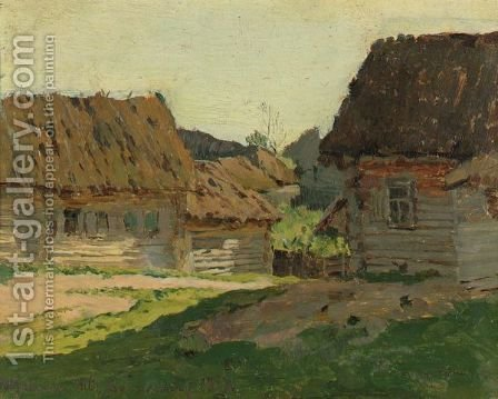 Landscape 2 by Isaak Ilyich Levitan - Reproduction Oil Painting