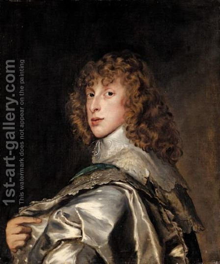 Portrait Of Lord Bernard Stuart, Later Earl Of Lichfield by (after) Dyck, Sir Anthony van - Reproduction Oil Painting