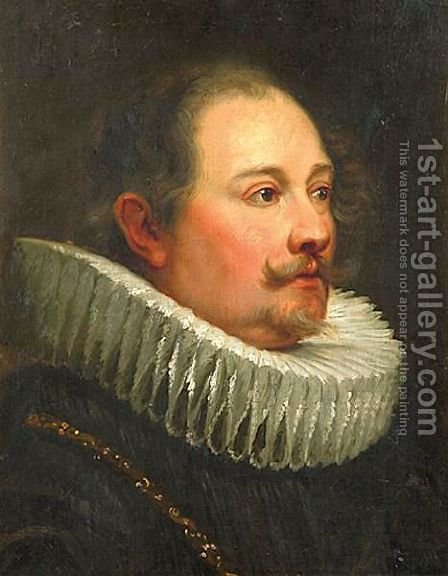 Portrait Of A Man by (after) Dyck, Sir Anthony van - Reproduction Oil Painting