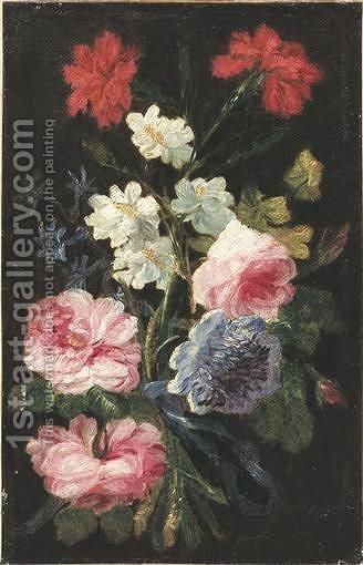 Jetee De Fleurs follower Of Daniel Seghersbunch Of Flowers by (after) Daniel Seghers - Reproduction Oil Painting