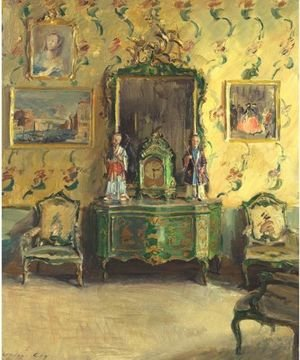 The Chinoiserie Room, Correr Museum, Venice