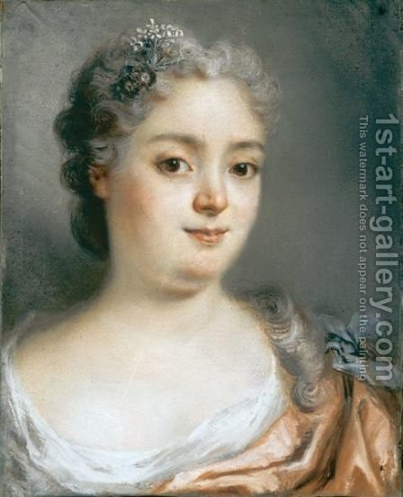 Ritratto Di Gentildonna by (after) Rosalba Carriera - Reproduction Oil Painting