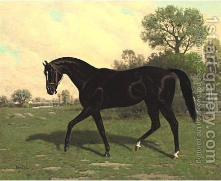 Mr. Henry Young's Strathmore by Henry Stull - Reproduction Oil Painting