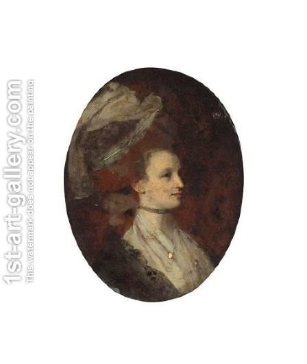 Portrait Of Elisabeth Stevenson, Countess Of Mexborough by (after) Hunter, Robert - Reproduction Oil Painting