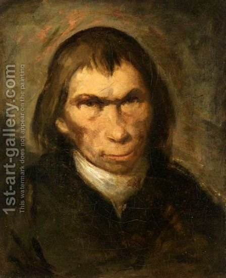Portrait Of A Gentleman, Head And Shoulders, Wearing Black by (after) Francisco De Goya Y Lucientes - Reproduction Oil Painting