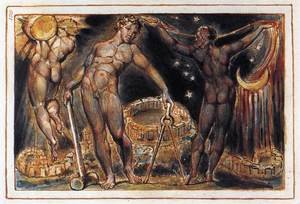 Reproduction oil paintings - William Blake - Los 1804-20
