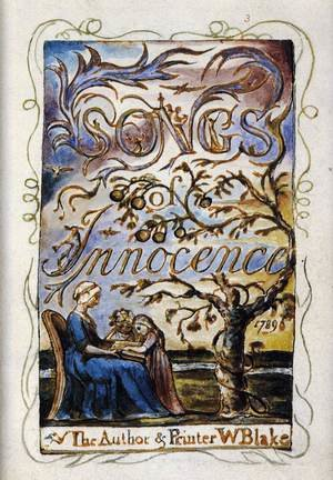 Reproduction oil paintings - William Blake - Songs Of Innocence (Title Page)