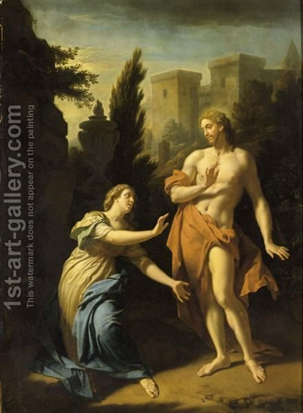 Noli Me Tangere by Adriaen Van Der Werff - Reproduction Oil Painting