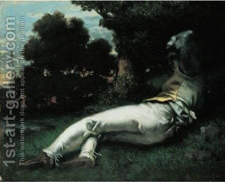 La Sieste by Gustave Courbet - Reproduction Oil Painting