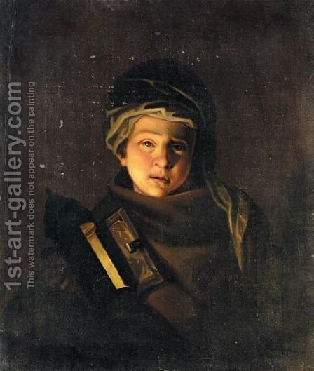 Portrait Of A Young Boy by Henry Robert Morland - Reproduction Oil Painting
