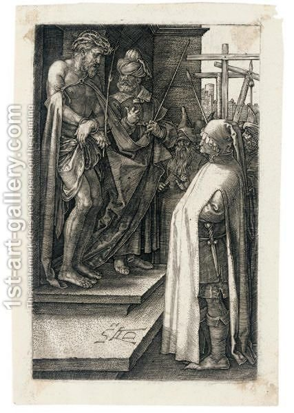Ecce Homo 4 by Albrecht Durer - Reproduction Oil Painting