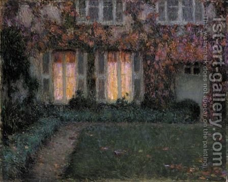 Crepuscule D'Automne by Henri Eugene Augustin Le Sidaner - Reproduction Oil Painting