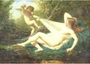 Reproduction oil paintings - Henri Pierre Picou - Venus And Cupid