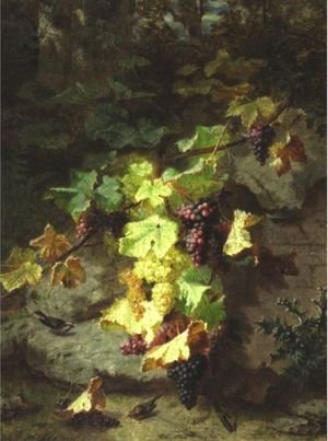 Still Life With Grapevine