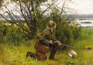 Reproduction oil paintings - Aleksandr Vladimirovich Makovsky - The Hunter