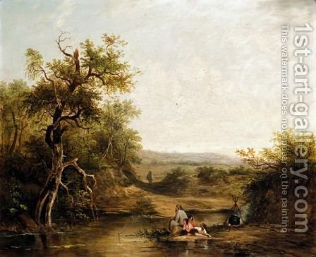 River Scenes by (after) Joseph Horlor - Reproduction Oil Painting
