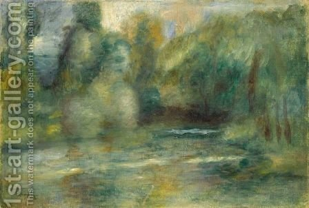 Pierre Auguste Renoir: Paysage 5 - reproduction oil painting