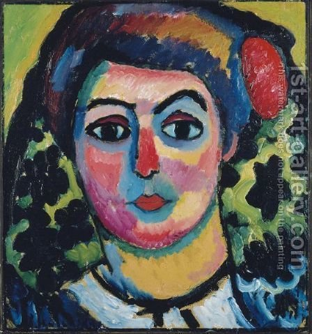 Lola by Alexei Jawlensky - Reproduction Oil Painting