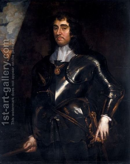 Portrait Of General Monck, 1st Duke Of Albemarle (1608-1670) by (after) Sir Peter Lely - Reproduction Oil Painting