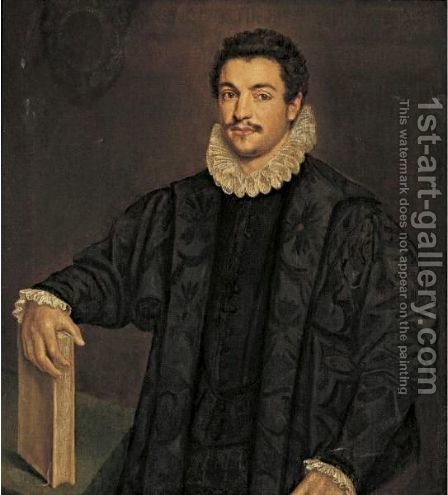 Portrait Of A Nobleman by (after) Leandro Bassano - Reproduction Oil Painting