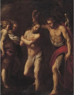 Reproduction oil paintings - Daniele Crespi - Baptism Of Christ
