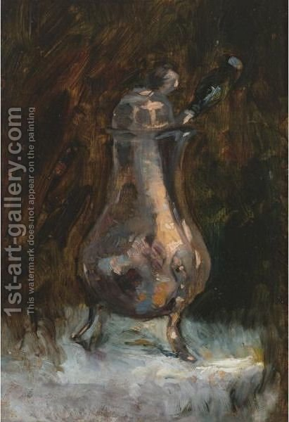 Cafetiere by Toulouse-Lautrec - Reproduction Oil Painting