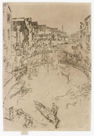 Reproduction oil paintings - James Abbott McNeill Whistler - The Bridge