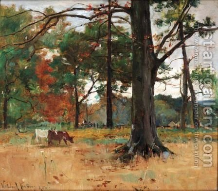 In Roseneath Wood by Alexander Wellwood Rattray - Reproduction Oil Painting