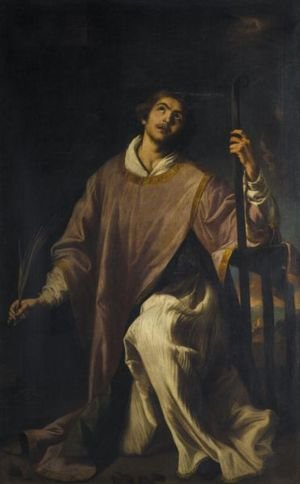 Reproduction oil paintings - Jeronimo Jacinto Espinosa - Saint Lawrence