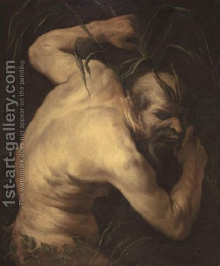 Pan by (after) Jacob Jordaens - Reproduction Oil Painting