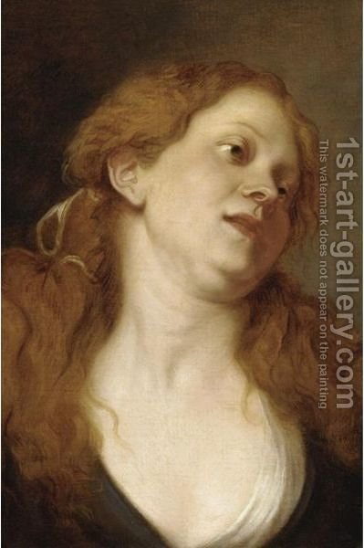 A Trony Of A Woman by (after) Dyck, Sir Anthony van - Reproduction Oil Painting
