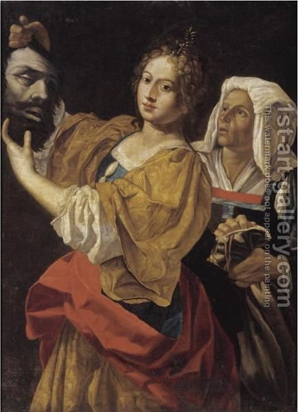 Judith And The Head Of Holofernes by (after) Cristofano Allori - Reproduction Oil Painting