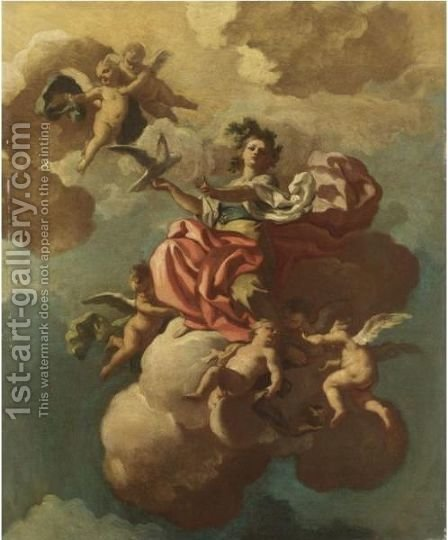 La Pace by (after) Francesco Solimena - Reproduction Oil Painting