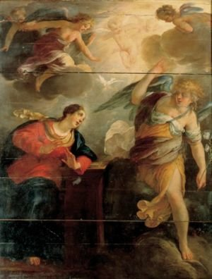 Reproduction oil paintings - Jacques Blanchard - The Annunciation