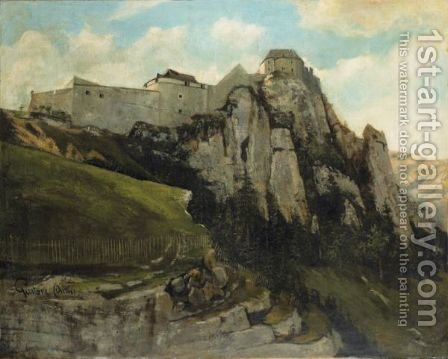 Fort De Joux by (after) Gustave Courbet - Reproduction Oil Painting