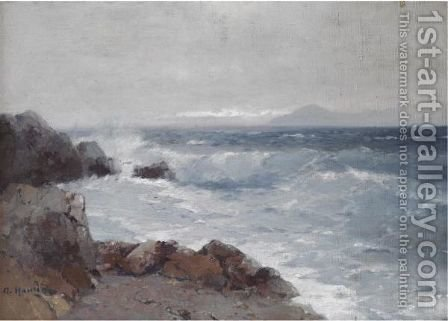 Coastal View 2 by Aleksei Vasilievich Hanzen - Reproduction Oil Painting