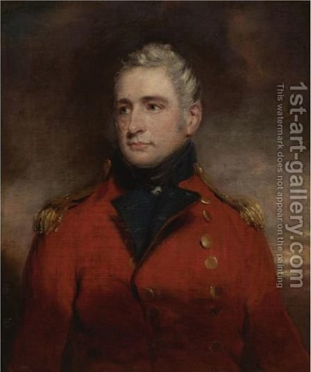 Portrait Of A Gentleman, Said To Be The Hon. Edmund Phipps by (after) Hoppner, John - Reproduction Oil Painting
