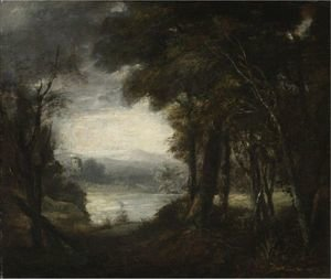 Reproduction oil paintings - Sir Joshua Reynolds - An Opening In The Woods