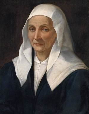 Mannerism painting reproductions: Portrait Of An Old Woman