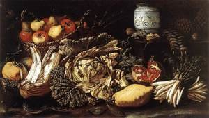 Still-life with Fruit, Vegetables and Animals 1621