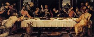 Famous paintings of Christ: The Last Supper c. 1560