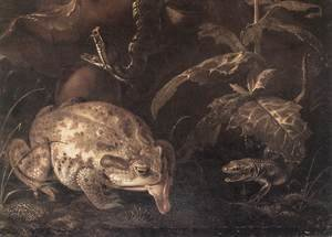 Famous paintings of Snakes: Insects